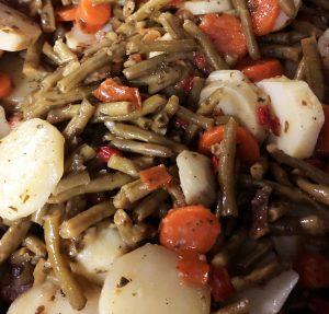Poêlée de légumes à la provençale