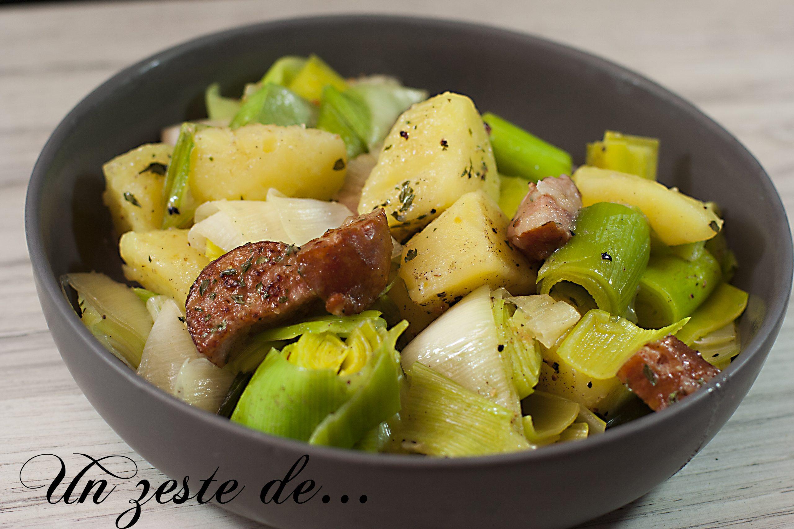 Potée aux poireaux
