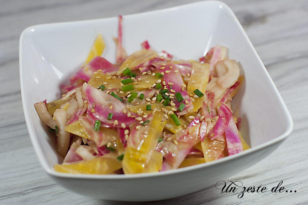 Salade de betterave chioggia