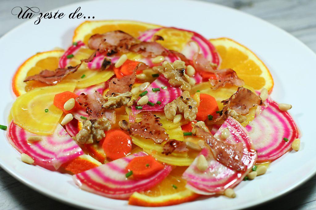 Salade peps de betterave chioggia