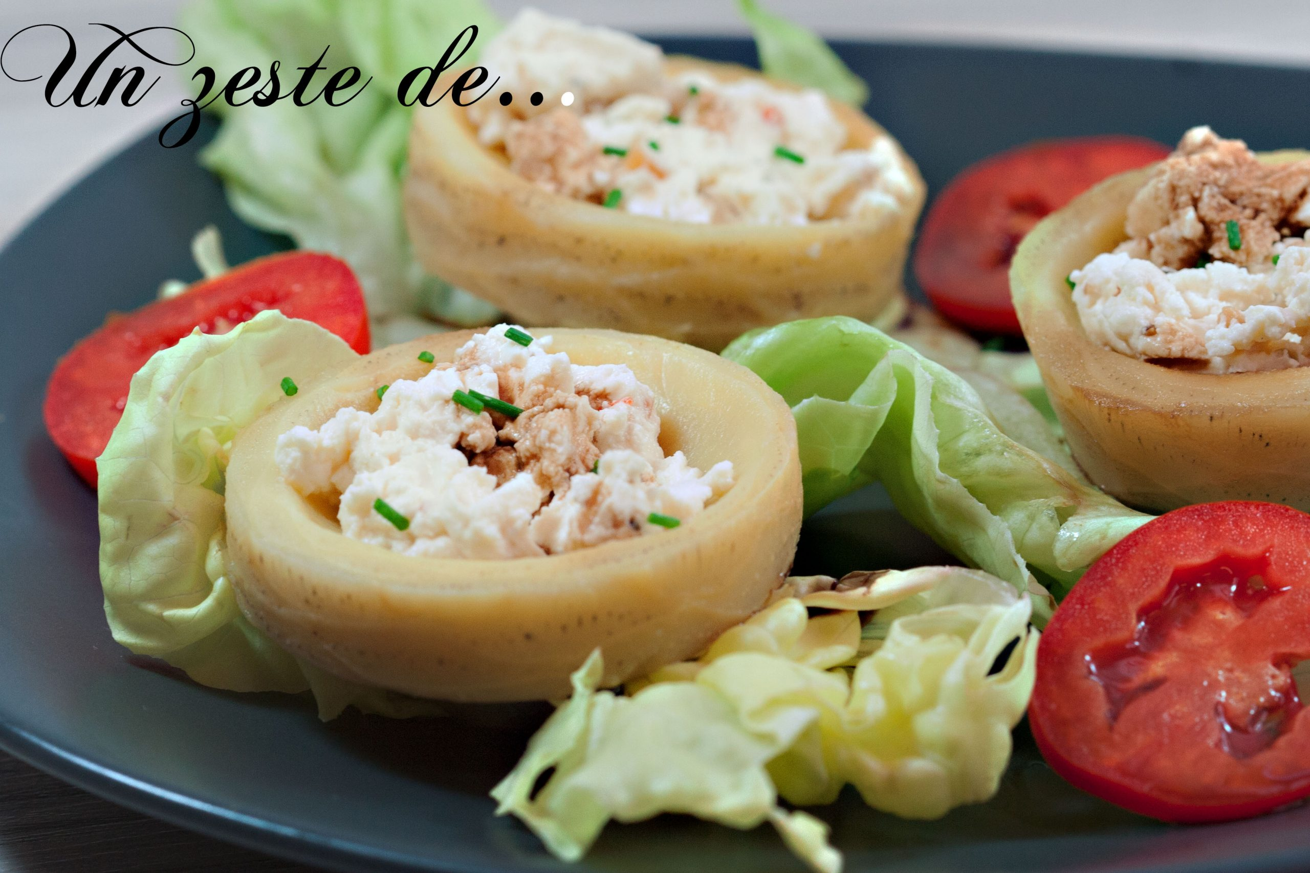 Fond d'artichaut au fromage frais et vinaigre balsamique