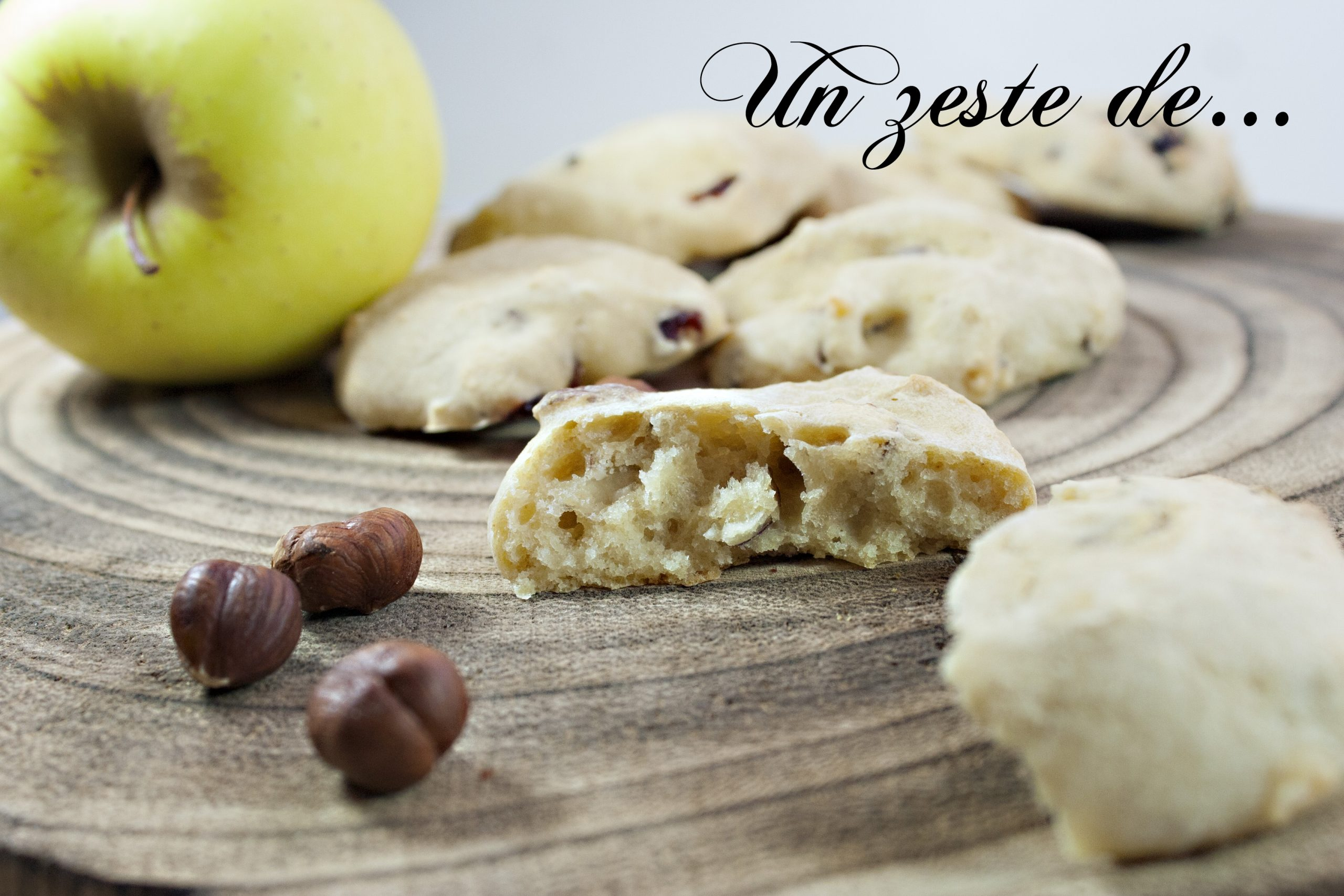 Biscuit pomme noisette