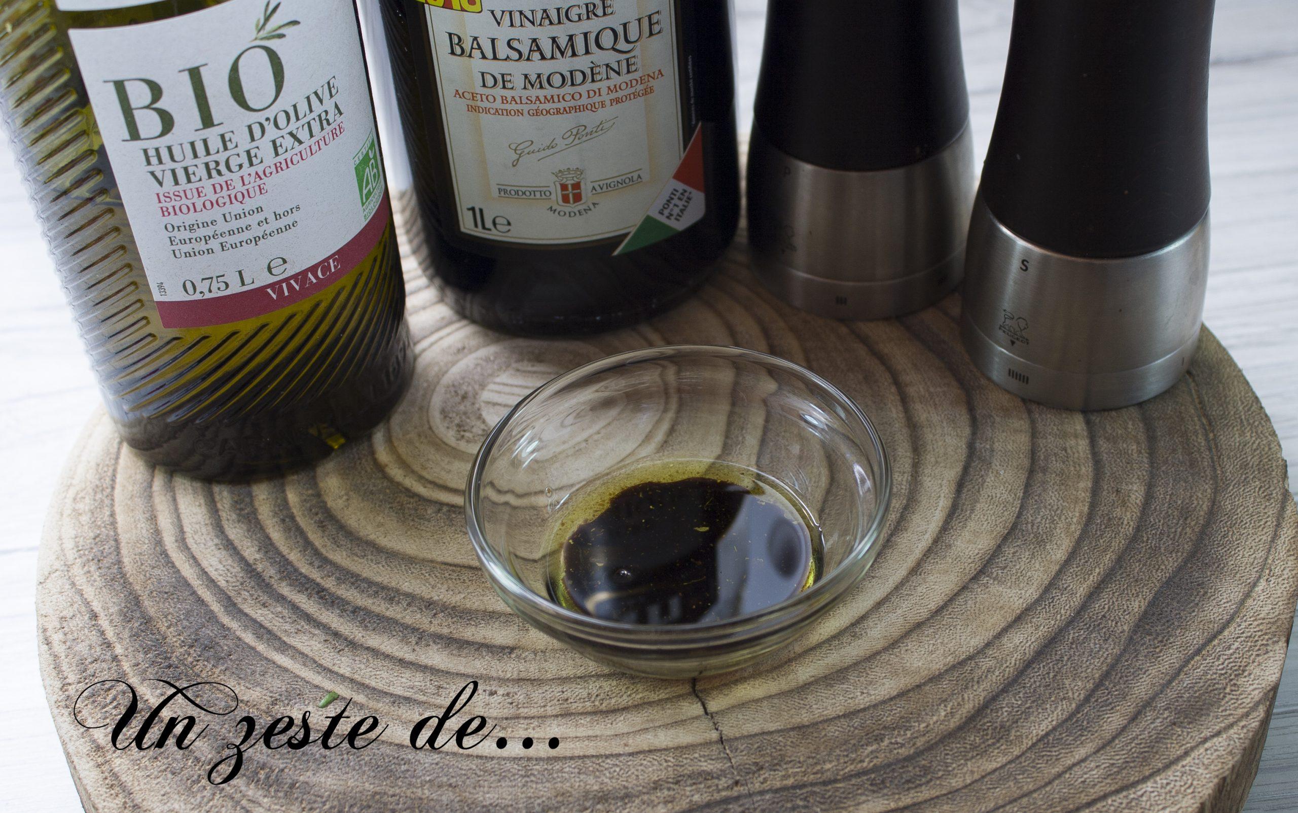 Vinaigrette balsamique