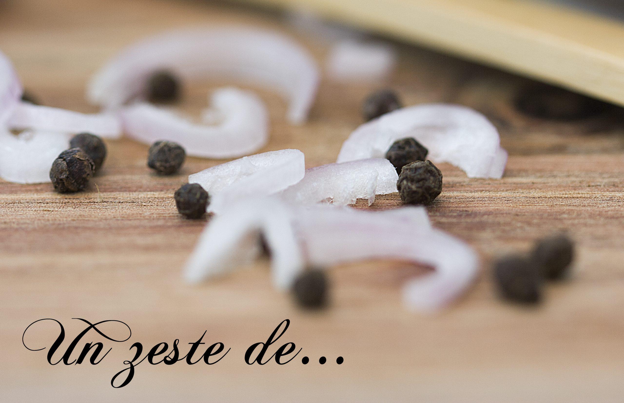 Vinaigrette fromage blanc,  échalote
