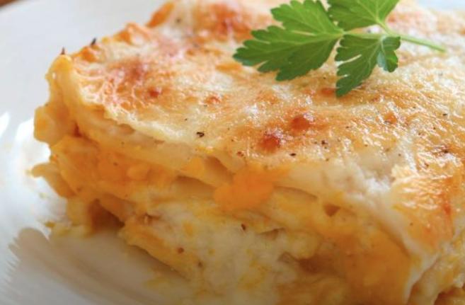 Lasagnes à la courge butternut