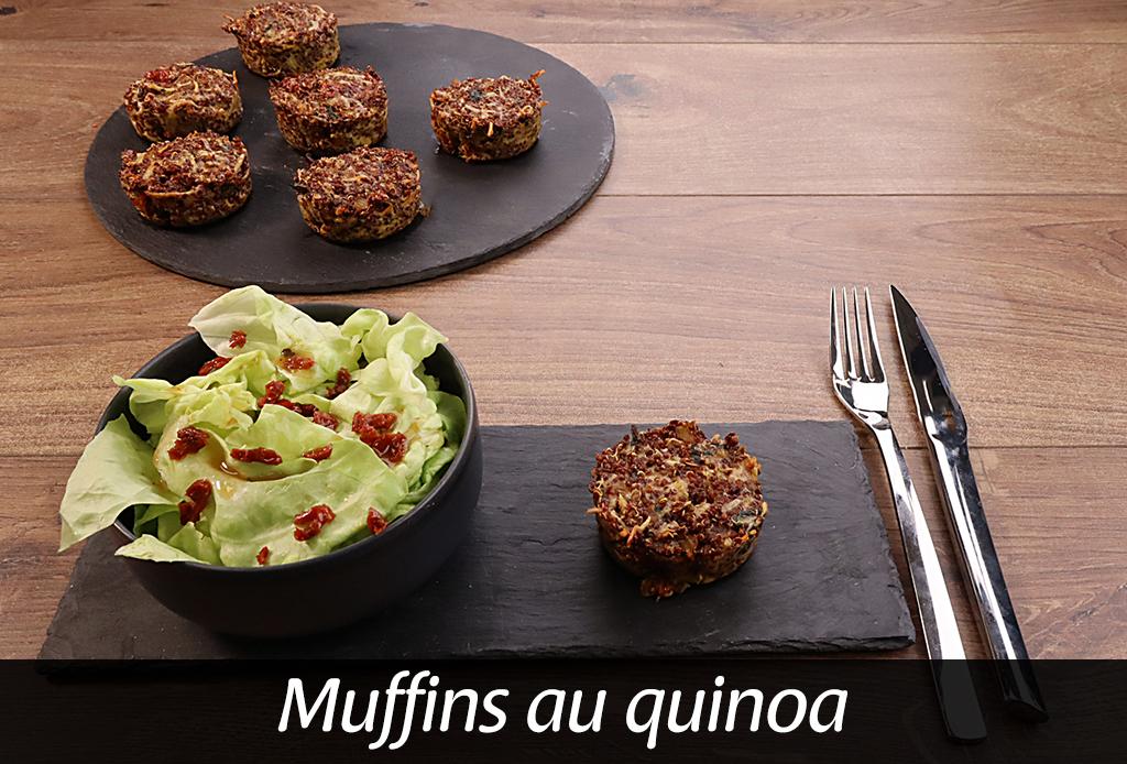 Muffin au quinoa et épinards