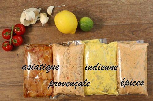 marinade pour volaille