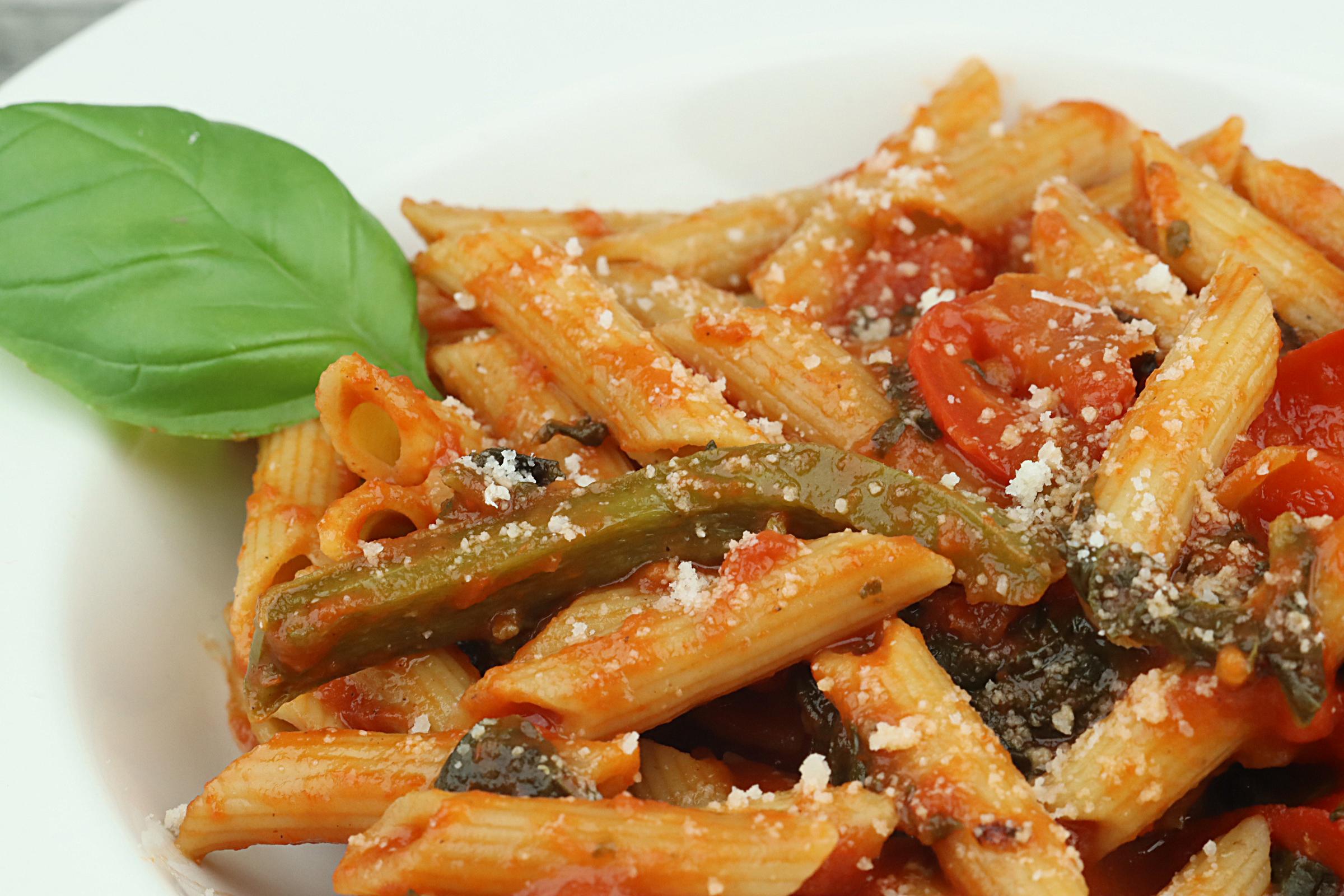 Sauce tomates, poivrons et épinards